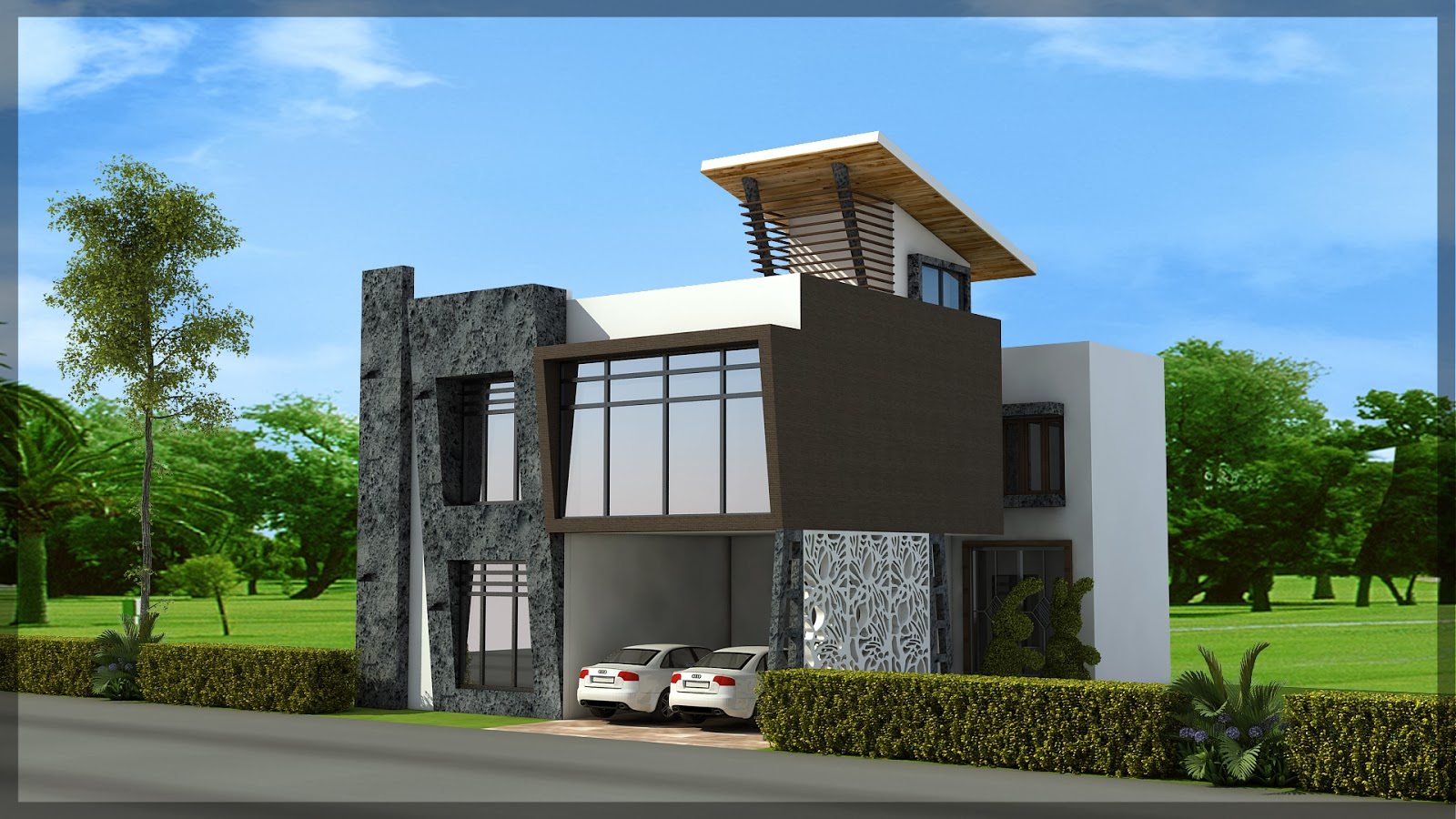 Luxurious duplex house plan 40 50 ghar planner for Duplex houseplans