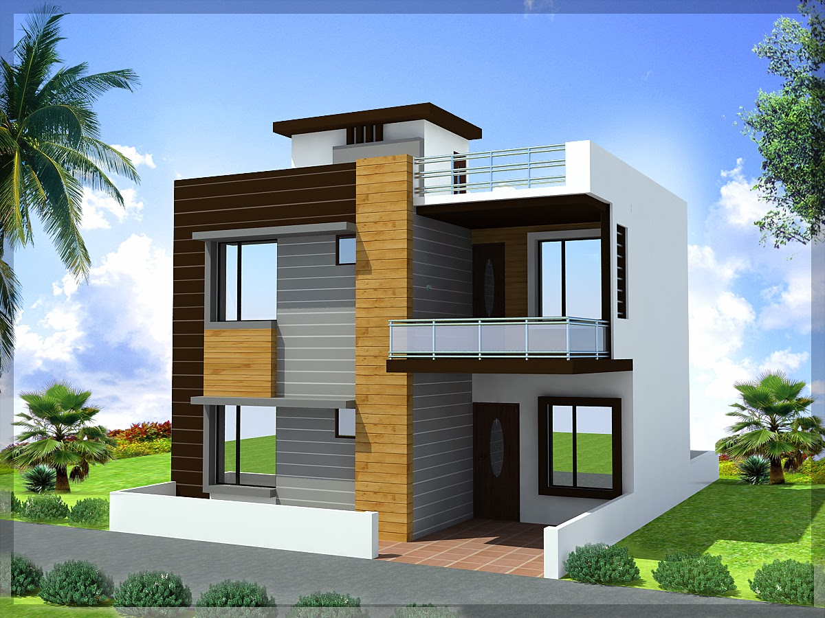 Duplex house plans 30 45 ghar planner Small duplex house photos